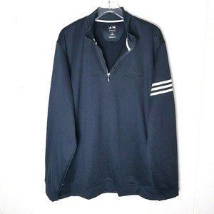 Adidas Golf Climalite Aerotek Logo Pullover 2XL